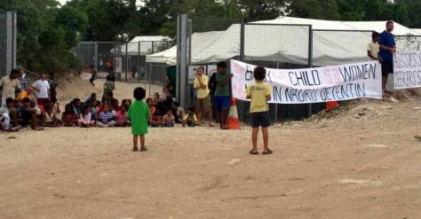 Image from Free the children NAURU Facebook page, uploaded 20th March 2016