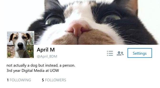 BCM325, BLOG III: tweet time