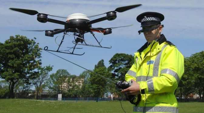 Policing Drones