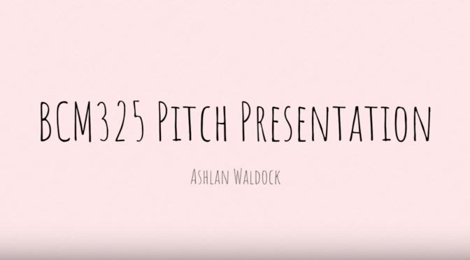 BCM325 Pitch – Futurecultures