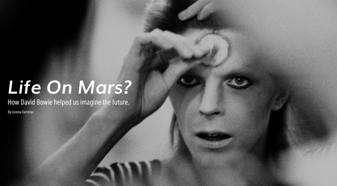 Life On Mars? How David Bowie helped us imagine the future
