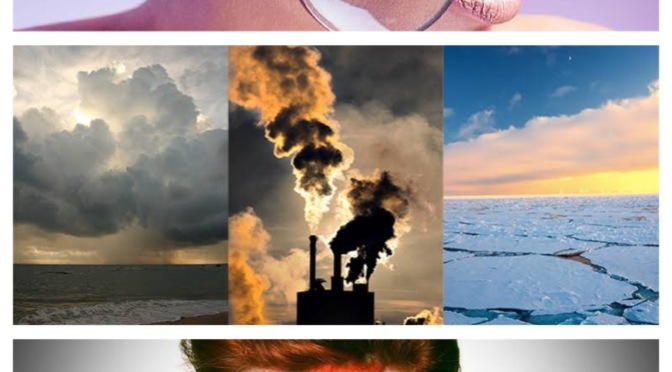 Climate change, the future of beauty and David freckin Bowie! What my peers have been cooking