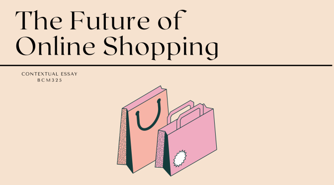 The Future of Online Shopping – Contextual Essay